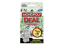 Monopoly Deal Card Game with Exclusive Robot Token Included X 2 = £6 each or 2 for £10