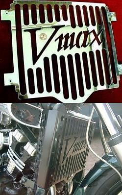 <em>YAMAHA</em> V MAX 1200 V MAX LOGO RADIATOR GRILLE IN CHROME  EXACTREP 199