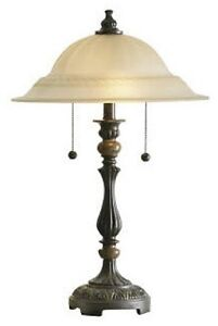 Brand New - Frosted Glass Table Lamp