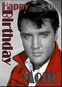 Elvis Presley Birthday Card