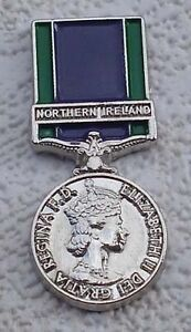 general service medal lapel badge northern ireland british army udr rir ruc