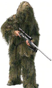 Brand New Full Ghillie Suit Woodland Camo XL Paintball Hunting