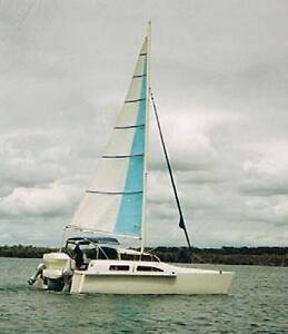 Light Weight Custom built FRP GBE Catamaran Ferny Hills Brisbane North West Preview