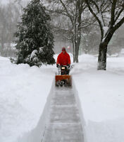 Don't break your back shovelling snow this winter, Call me!