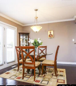 The top glass dining table London Ontario image 1