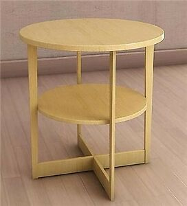 "IKEA VEJMON Side table, birch, 23 5/8"", $100 new"