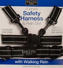 New -Valco Baby Harness & Rein Set 4 Point FREE POST Dingley Village Kingston Area Preview