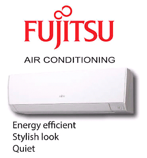 Fujitsu 3.5kw inverter split system air conditioner from $1400