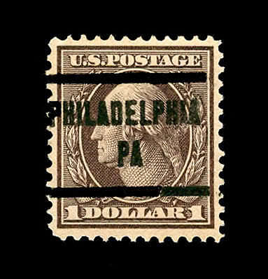 momen: US Stamps #342 Used PSE Graded VF/XF 85