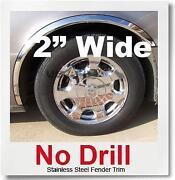 Chrome Wheel Well Trim