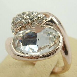 LADY'S LILY SAPPHIRE CZ 10KT REAL YELLOW GOLD FILLED RING