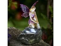 Solar fairy with rabbit