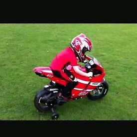 Ducati kids battery powered motorbike for sale with stabilizers
