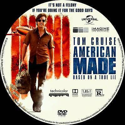 American Made Dvd 2017 In Leicester Leicestershire