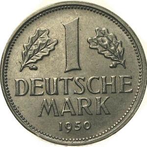 1 deutsche mark 1950 d