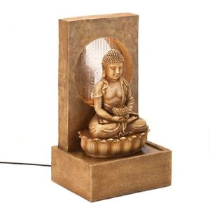 FOUNTAIN,ZEN BUDDHA TABLETOP(NEW)(D1309)(B88B)