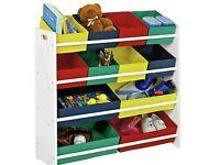 4 tier toy storage unit