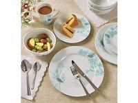 12 Piece Spring Blossom Dinner Set - Plus 4 FREE Mugs
