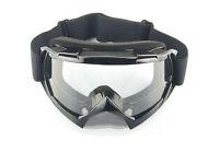 Downhill or trail bike goggles