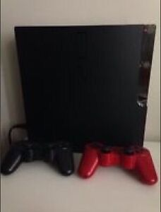160GB Perfect Condition PS3 Slim! 2 Controllers + Games + HDMI
