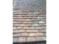 Reclaimed Hand Made Clay Kent Peg Roof Tiles For Sale