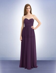 BILL LEVKOFF BRIDESMAID GOWN SIZE 10 - extra length & unaltered