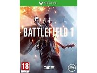 BATTLEFIELD 1 (Xbox One) BRAND NEW AND FACTORY SEALED