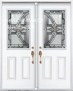 Double Door Front Entry  Energy saving