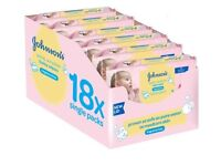 Johnson's Extra Sensitive Baby Wipes 18 pk. Great for anyone with sensitive skin