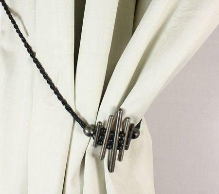 Metal Curtain Hold Backs Ebay
