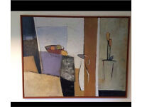 Large IKEA framed picture / painting / canvas