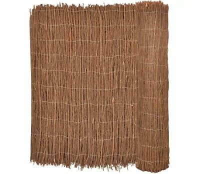 Brushwood Fence 400x100 Last 3 Months Natural Look Sun Screen Section Off Parts