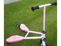 Flicker scooter perfect condition seldom used like new.