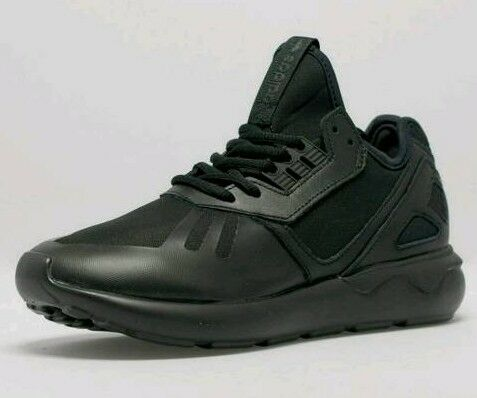 Adidas black boys tubular runner trainers UK 4.5 us 6 rrp £100 new with tags oringal