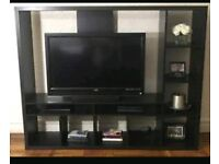 AS NEW IKEA TV UNIT CABINET - 6 MONTHS OLD - SAMSUNG, SONY, LG