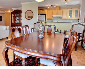 Dining Set-Solid Cherry wood