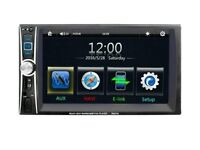 Touch screen double din for salw