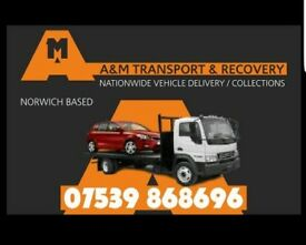 A & M Transport and Recovery Services. Car Recovery & Delivery