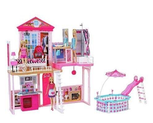 Barbie Dream House With 3 Doll Pool Bnib In Northolt London Gumtree