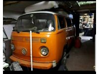 Vw bay window 1978 LHD
