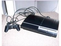 Sony PS3 80GB Hardly Used Exc Cond