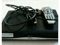 Sky hd box with built in wifi and remote control