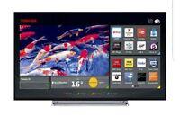 Toshiba 55 smart tv with Bluetooth and Wi-Fi