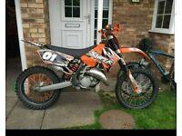 Ktm 125 2007 £1200 no offers
