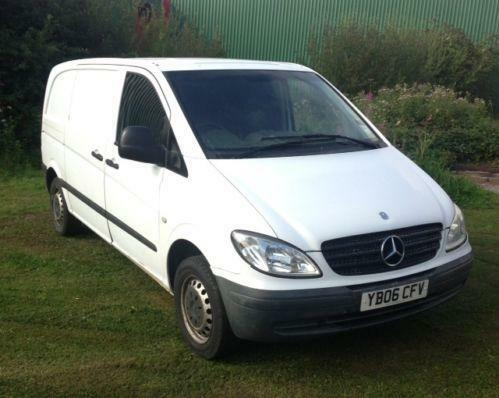 mercedes vito 109 cdi compact ebay. Black Bedroom Furniture Sets. Home Design Ideas