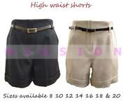 High Waisted Shorts Size 18