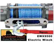 RUNVA EWX9500 ELECTRIC WINCH with DYNEMA ROPE **NEW IN BOX** Everton Hills Brisbane North West Preview