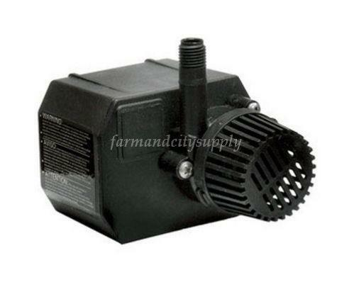 Small pond pump ebay for Small pond filter pump