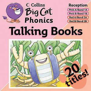 Collins Big Cat Talking Books - Phonics: Pink/Band 2 Red, Various