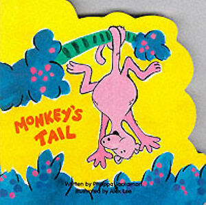 """AS NEW"" Monkey (Animal Board Books - Jungle), Author, Lee, Alex, Jackson, Phili"